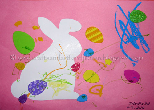 Easy Toddler Easter Craft Idea