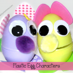 Plastic Egg Characters | Easter Craft for Kids