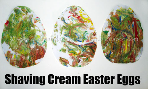 Our Paper Easter Egg Crafts {many designs including for a toddler}