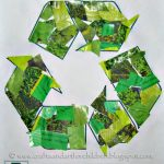 Green is the New Black! Recycling Crafts for Earth Day