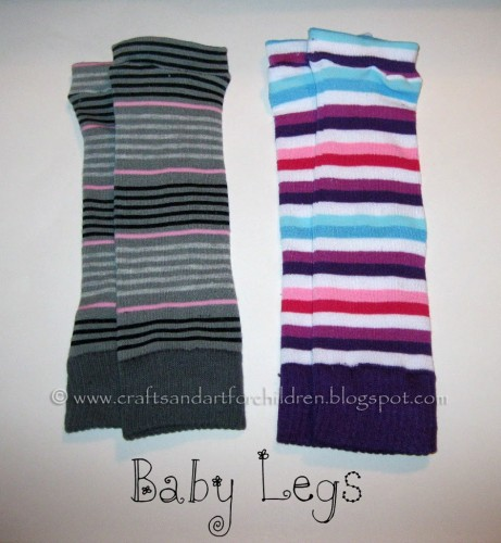 How to make your own Baby Legs - DIY