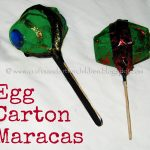 Egg Carton Maracas & Our Cinco de Mayo Crafts