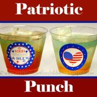Patriotic Punch & Snack Idea