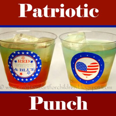 Fun Patriotic Punch and Snack Ideas for Fourth of July Party Fun