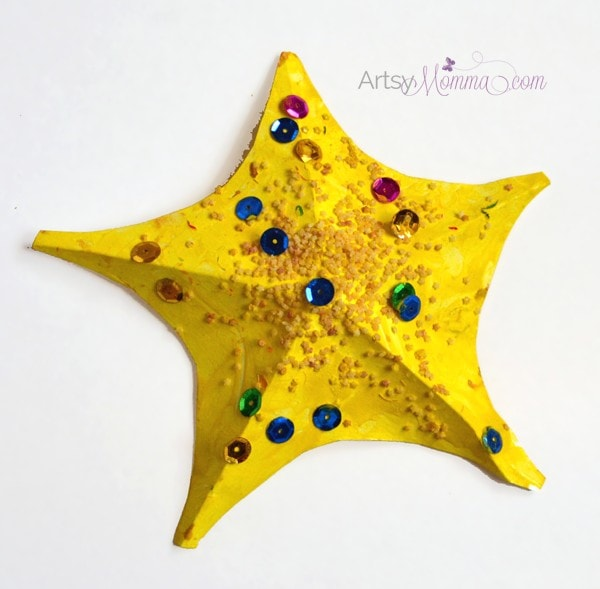 starfish craft ideas starfish craft for template artsy momma 3002
