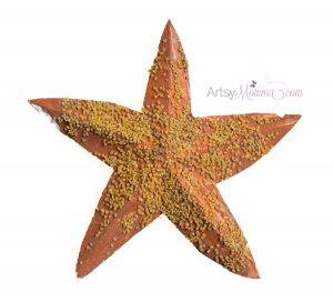 Starfish Craft for Kids using Pasta