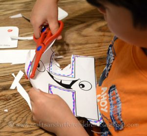 Learning to Cut/Preschool Scissors Practice Activity