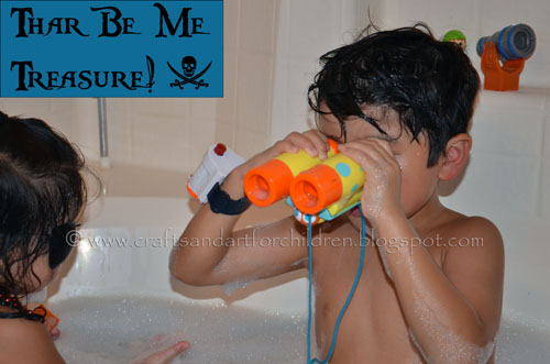 Talk Like a Pirate Day Bubble Bath for children