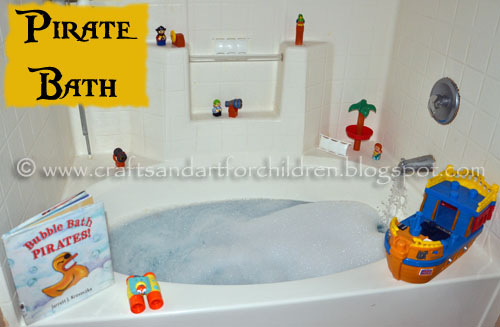 Pirate Bath and Book