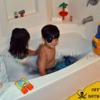 Arrr! A Pirate Bubble Bath & Book for kids