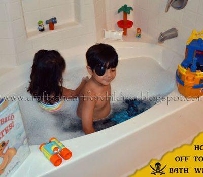 Arrr! A Pirate Bubble Bath & Book for kids