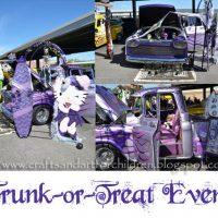 Trunk or Treat Halloween Photos