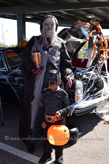 Trunk-or-Treat Halloween Event for kids