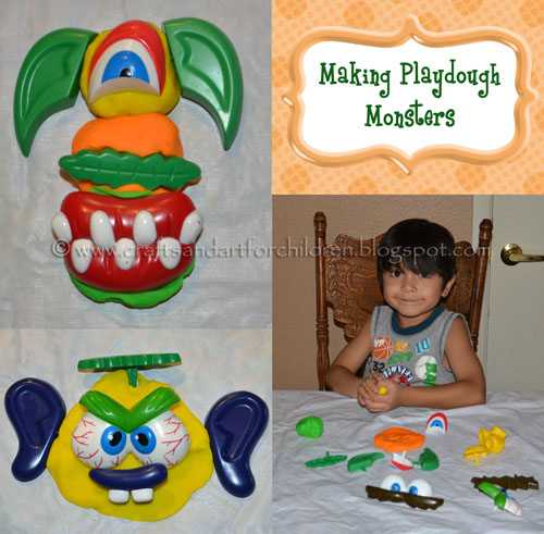 Playdough Monster Activity