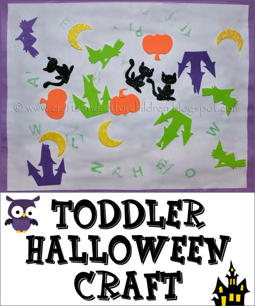 Toddler Halloween Craft