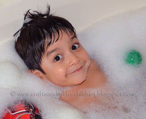 Fun Bath Time Activity For Kids