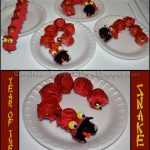 Egg Carton Snake for Chinese New YEar