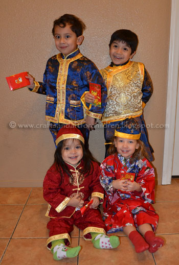 Kids Chinese New Year Outfits