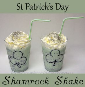 Yummy Shamrock Shake Idea for Kids