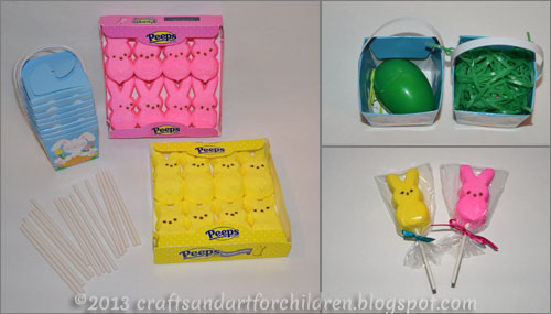 Easter Peeps Party Favors for Kids