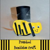 Preschool Bumblebee Craft