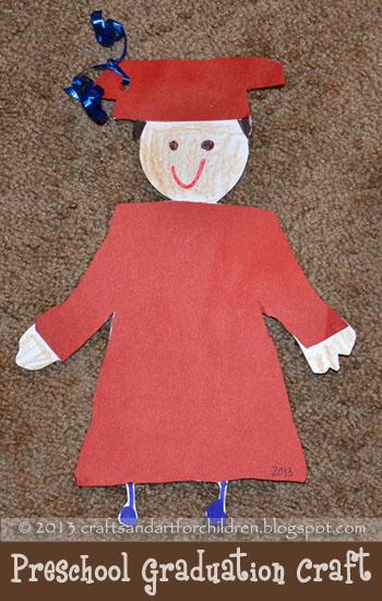 Graduation Craft for Preschoolers