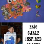 Eric Carle Inspired Craft for Kids