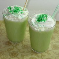Green Honeydew Melon Smoothie for Kids
