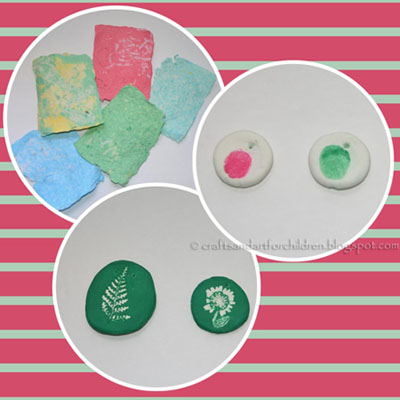 Homemade Stamp and Homemade Paper Crafts