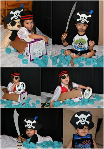 Dress Up/Pretend Play - DIY Pirate Costumes