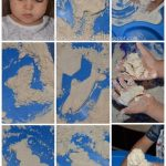 Homemade Cloud Dough - Little Cloud by Eric Carle activity
