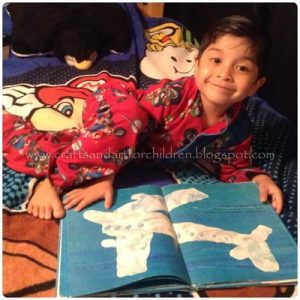 Little Cloud by Eric Carle & Sensory Activity