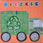 Recycling Truck Craft – Kids Newspaper Art