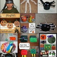 Halloween Crafts for Kids – TONS!