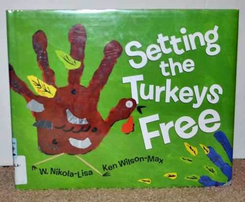 Setting the Turkeys Free Book and craft
