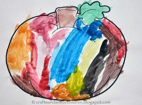 Pumpkin Coloring Page