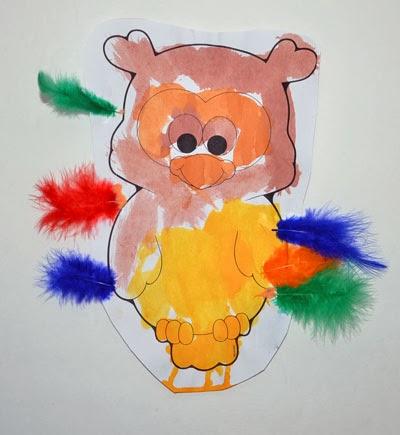 Fall Craft for Preschool: Owl Craft