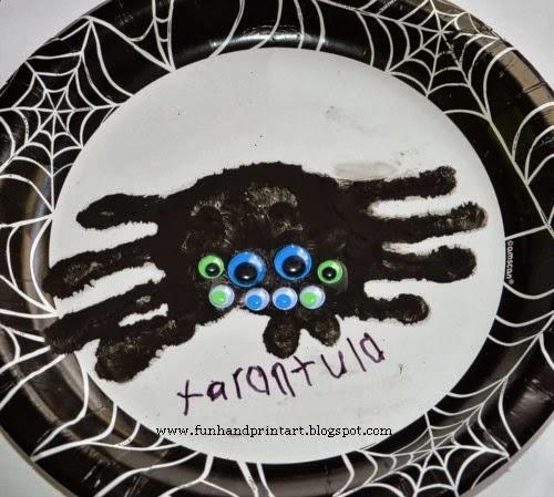Handprint Tarantula