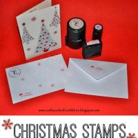 Custom Christmas Stamp Projects