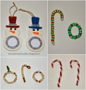 Easy Christmas Ornament Craft Ideas For Kids