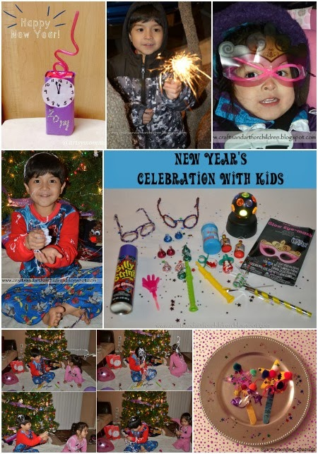 Kids New Year's Eve Celebration Activities