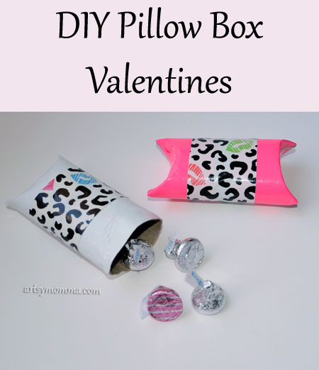 How to make Pillow Boxes for Valentine's Day