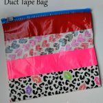 How to make a Duck Tape Bag using a Ziploc