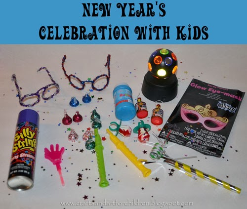 New Year's Celebration with Kids