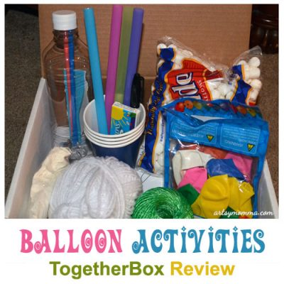 Balloon Activities – Family Fun Time with TogetherBox