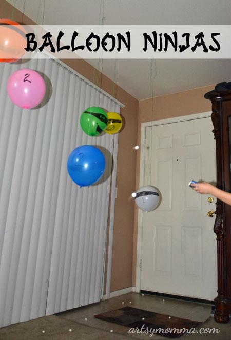 Feed the Balloon Ninjas Game