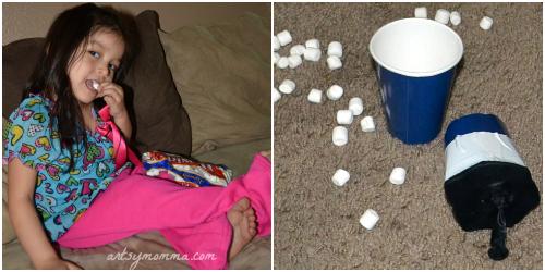 Marshmallow Shooter - Kids Activitiy