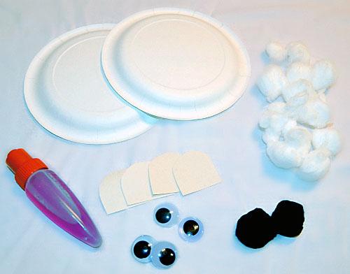 Paper Plate Polar Bear Craft & Paper Plate Polar Bear Craft - Artsy Momma