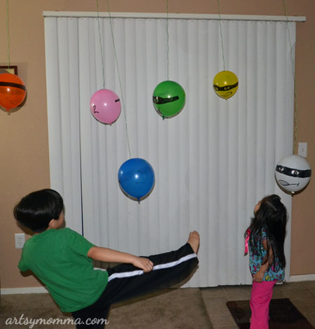 Pretend Play with Balloon Ninjas