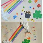 St Patrick's Day Crafts and Gluing Activity #EarlyLearnersAcademy